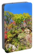Autumn Color On Newfound Gap Road In Smoky Mountains National Park Portable Battery Charger