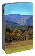 Autumn Colours In Great Smoky Mountains National Park Portable Battery Charger