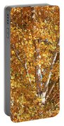 Autumn Golden Leaves Portable Battery Charger