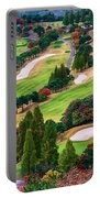 Autumn Golf Course Portable Battery Charger