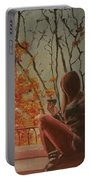 Autumn In Paris Portable Battery Charger