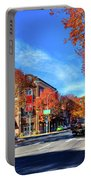 Autumn In Pullman Portable Battery Charger