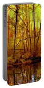 Autumn - Krasna River Portable Battery Charger
