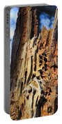 Autumn Knotty Tree Sculpture Portable Battery Charger