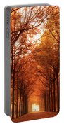 Autumn Lights At Groeneveld Portable Battery Charger