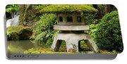Autumn, Pagoda, Japanese Garden Portable Battery Charger