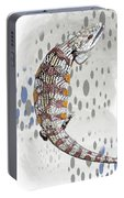B Is For Blue Tongue Lizard Portable Battery Charger