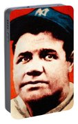 Babe Ruth, Portrait Portable Battery Charger