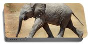 Baby African Elephant Portable Battery Charger