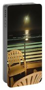 Balcony On The Pacific Oceanside California  Portable Battery Charger