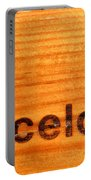 Barcelona Text Portable Battery Charger