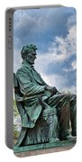 Bascom Hall Lincoln Statue Portable Battery Charger