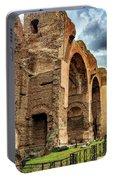 Baths Of Caracalla Portable Battery Charger