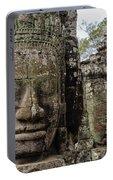 Bayon Faces, Angkor Wat, Cambodia Portable Battery Charger
