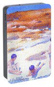 Beach At Cabasson - Digital Remastered Edition Portable Battery Charger