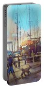 Beaufort Summer Color Portable Battery Charger