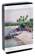Beautiful Beach In Goa India Portable Battery Charger