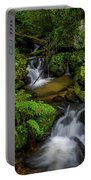 Beautiful Cascades Of Lee Falls Portable Battery Charger
