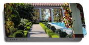 Beautiful Courtyard Getty Villa  Portable Battery Charger