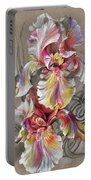 Beautiful Fantastic Realistic Flowers Portable Battery Charger
