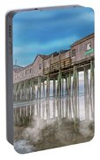 Beautiful Pier Maine Morning Portable Battery Charger