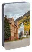 Beautiful Small Town Rico Colorado Portable Battery Charger
