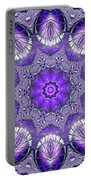 Bejeweled Easter Eggs Fractal Abstract Portable Battery Charger by Rose Santuci-Sofranko