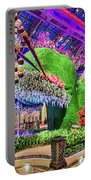 Bellagio Conservatory Spring Display Front Side View Wide 2018 2 To 1 Aspect Ratio Portable Battery Charger