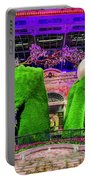 Bellagio Conservatory Spring Display Ultra Wide 2 To 1 Aspect Ratio Portable Battery Charger
