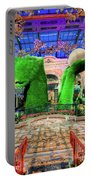 Bellagio Conservatory Spring Display Ultra Wide Trees 2018 Portable Battery Charger