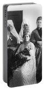 Bethlehem Women In 1886 Portable Battery Charger
