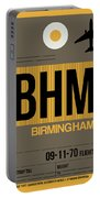 Bhm Birmingham Luggage Tag I Portable Battery Charger