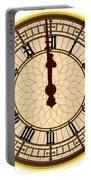 Big Ben Midnight Clock Face Portable Battery Charger