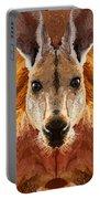 Big Boy Red Kangaroo   Portable Battery Charger
