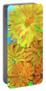 Biggie Flowers Sky Portable Battery Charger