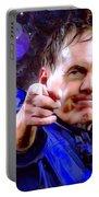 Bill Belichick Spotlight Portrait Portable Battery Charger