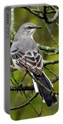 Mockingbird In Tree Portable Battery Charger