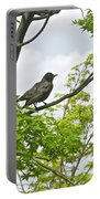 Bird Resting On Branch Portable Battery Charger