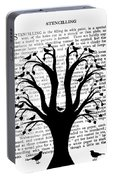 Blackbirds In A Tree - Central Portable Battery Charger