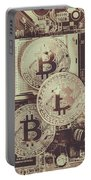 Blocks Of Bitcoin Portable Battery Charger
