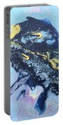 Blue Abstract #3 Portable Battery Charger
