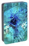 Blue Abstract Art - Heaven's Gate - Sharon Cummings Portable Battery Charger