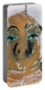Blue Eyed Man Portable Battery Charger