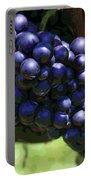 Blue Grape Bunches 5 Portable Battery Charger