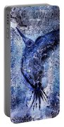 Blue Hummingbird Portable Battery Charger