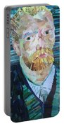 Blue Van Gogh Portable Battery Charger