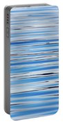 Blue Water Abstract 8621 Portable Battery Charger