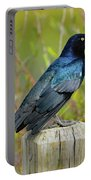 Boat Tailed Grackle Portable Battery Charger