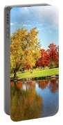Boise Fall Foliage Portable Battery Charger by Dart and Suze Humeston