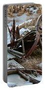 Boneyard Portable Battery Charger by Ann E Robson